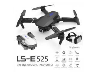 طائرة درون LS-E525 ميني كوادكوبتر Mini Drone مع كاميرا مزدوجة 4K واتصال WiFi