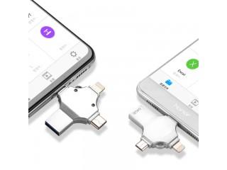 فلاش ميموري 4 في 1 USB