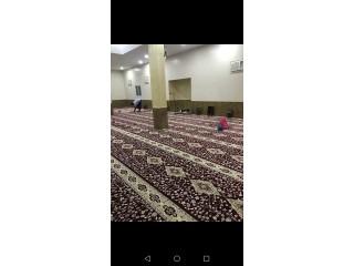 يتوفر فرش مساجد